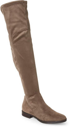 166548188c4 at Century 21 · Marc Fisher Taupe Jet Over-the-Knee Boots