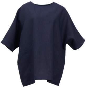 Shio Poketto Tunic - Navy - S/M - Blue