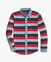Brooks Brothers (ブルックス ブラザーズ) - 【オンライン限定SALE】BOYS コットンジャージー ストライプシャツ