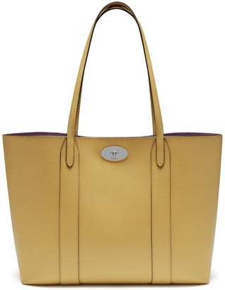 Mulberry Bayswater Tote Golden Yellow Cross Grain Leather