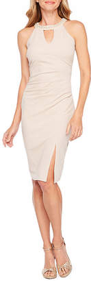 cfa80a027a BLU SAGE Blu Sage Sleeveless Embellished Sheath Dress. JCPenney ...