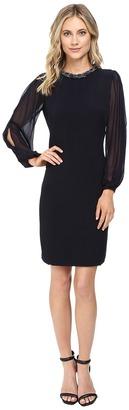 Christin Michaels Gillian Necklace Dress $139 thestylecure.com