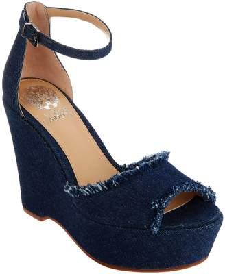 Vince Camuto Ankle Strap Wedges - Tatchen