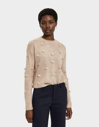 Farrow Kaycee Pom Pom Sweater in Taupe