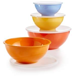 Martha Stewart Collection La Dolce Vita Melamine 8-Pc. Bowl & Lid Set, Created for Macy's