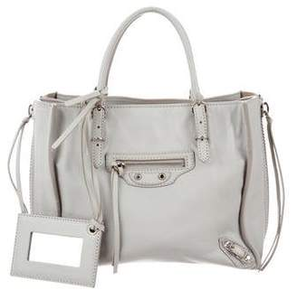Balenciaga Mini Papier A4 Zip-Around Tote