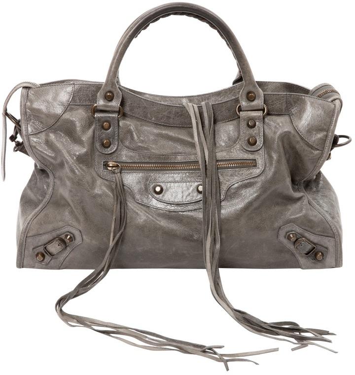 Balenciaga City leather handbag