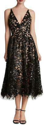 Dress the Population Blair Sequin Lace Dress
