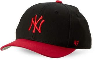 '47 Toddler Boys) Black & Red New York Yankees Baseball Cap