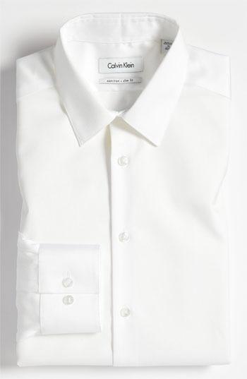 Calvin Klein Slim Fit Non-Iron Dress Shirt (Online Only)