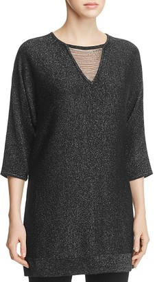 Design History Beaded Cutout Metallic Tunic $112 thestylecure.com