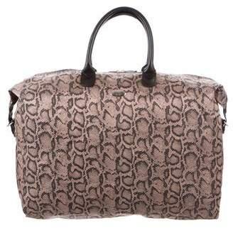 Diane von Furstenberg Animal Print Travel Bag