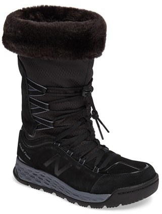 New Balance Women's New Balance Q416 1000 Faux Fur Waterproof Platform Boot