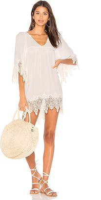 LSPACE L*SPACE Native Springs Tunic in White $149 thestylecure.com
