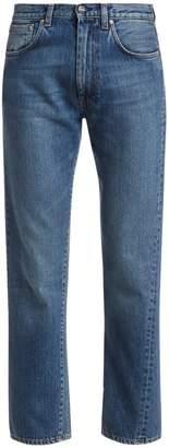 Totême Original Straight-Leg Ankle Jeans