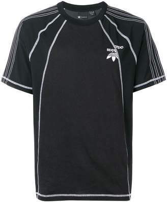 adidas By Alexander Wang short-sleeve logo T-shirt
