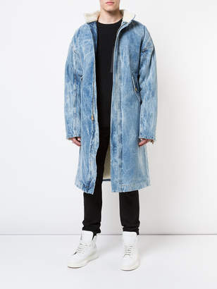 Fear Of God Long denim deckcoat