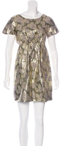 3.1 Phillip Lim 3.1 Phillip Lim Brocade Mini Dress