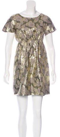 3.1 Phillip Lim3.1 Phillip Lim Brocade Mini Dress