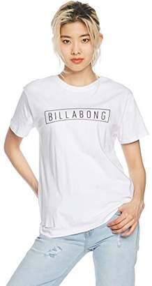Billabong (ビラボン) - (ビラボン) BILLABONG [ レディース ] 半袖 Tシャツ (ロゴ プリント) [ AI013-201 / LOGO SS TEE ] おしゃれ AI013-201 WHT WHT_ホワイト L