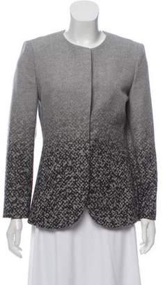 Giorgio Armani Wool Ombré Jacket