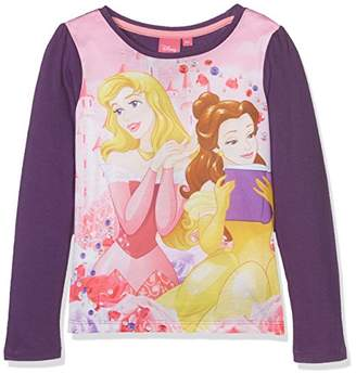 Disney Girl's Princess Strong T-Shirt,4-5 (Size: 5 Years)