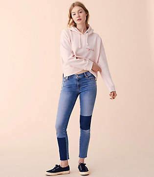 Lou & Grey Blocked Skinny Jeans