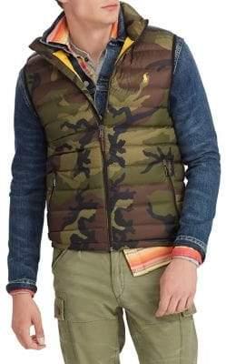 Polo Ralph Lauren Camo Packable Down Vest