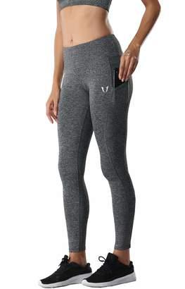 bd2fd5c47b40f4 ABS by Allen Schwartz FIRM Womens Yoga Legging Workout Mid Waist Capri  Athletic Exercise Pants S