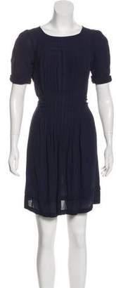 Balenciaga Short Sleeve Mini Dress