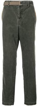 Sacai corduroy trousers