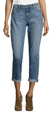 Eileen Fisher Organic Cotton Boyfriend Jeans $178 thestylecure.com