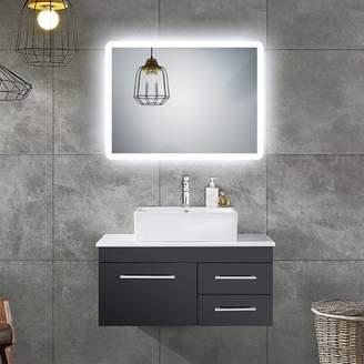 Lighted Impressions Blazer LED Bathroom Wall Mirror