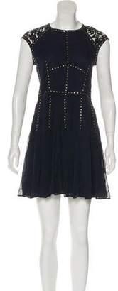 Rebecca Taylor Studded Mini Dress