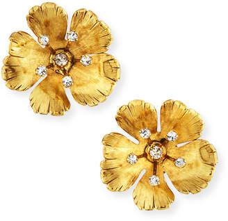Jennifer Behr Haille Flower Stud Earrings