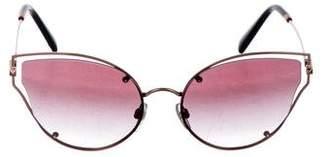Valentino Gradient Cat-Eye Sunglasses