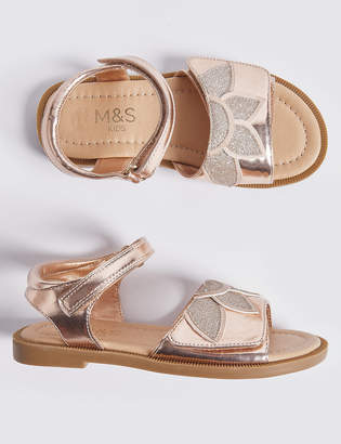 Marks and Spencer Kids Sparkle Sandals (5 Small - 12 Small)
