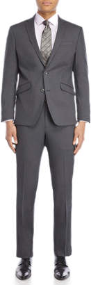 Kenneth Cole Reaction Two-Piece Grey Ready Flex Suit