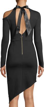 STYLEKEEPERS Valentina Cutout Asymmetric Bodycon Dress