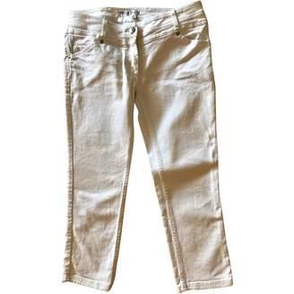 Christian Dior White Denim - Jeans Trousers for Women