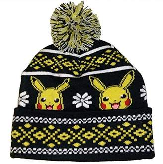 Nintendo Pokemon Pikachu Knit Pom Hat