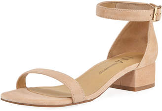 Neiman Marcus Hekla Suede d'Orsay Sandal