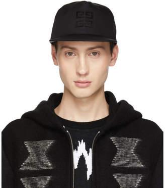Givenchy Black 4G Flat Peak Cap