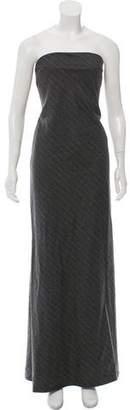 Ralph Lauren Black Label Wool Evening Dress
