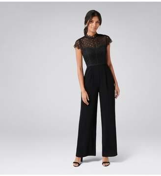 Ever New Eloise Petite Lace Bodice Jumpsuit