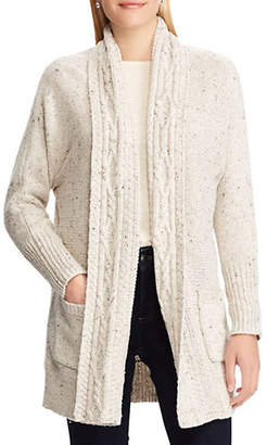 Chaps Classic Open Front Sweater