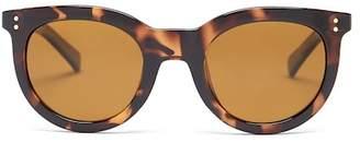 Cole Haan Unisex Retro Schoolboy Plastic Fame Sunglasses $98 thestylecure.com