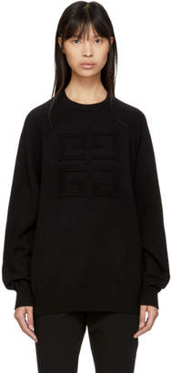 Givenchy Black Cashmere 4G Sweater