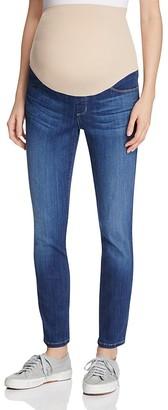 NYDJ Ami Skinny Legging Maternity Jeans in Big Sur $168 thestylecure.com