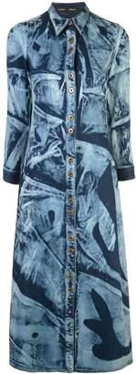 Proenza Schouler Bleached Denim Shirt Dress